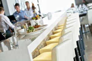 fishbone white elegant bar